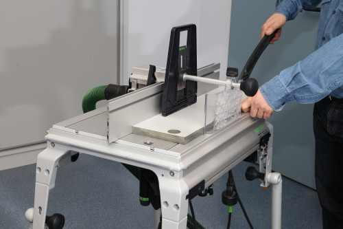 Frezowanie tworzyw sztucznych - Defonceuse sous table festool ...