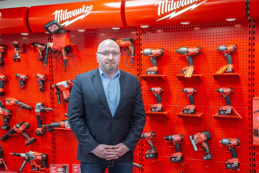 Konrad Marciniak, menedżer sprzedaży Professional Trade – Polska w Techtronic Industries Eastern Europe Sp. z.o.o.